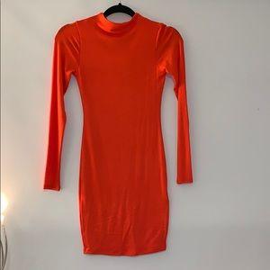 Naked wardrobe long sleeve dress